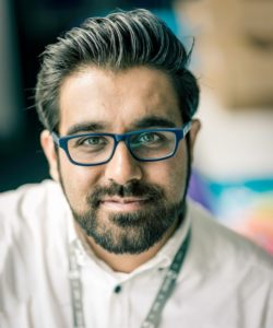 Photo of Imran Hussain our speaker at NUX Leeds in March
